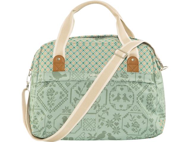 Basil Bohème-Carry Gepäckträger Tasche 18l jade
